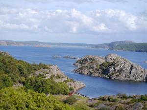 Blick von Kärrson über das Inselarchipel