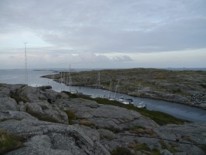 IOANNA im Hafen von Vinga